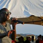 Wasswa performing